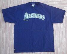 Seattle Mariners Baseball Shirt ~ Men's Medium M L ~ Blue MLB Baseball Bike 1997