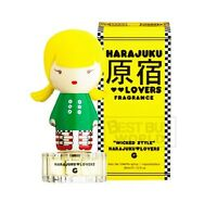 Harajuku Lovers Wicked Style G Gwen Stefani 1.0 oz EDT spray women perfume NIB