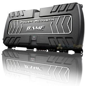 Power Acoustik 1 Channel Monoblock Subwoofer Amplifier 8000W Class D BAMF1-8000D
