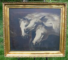 John Frederick Herring Pharaoh's Horses Antique Painting