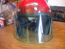 NOS Vintage 5 Snap Green Tinted Helmet Shield Visor USA Bell Buco