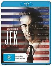JFK DIRECTOR'S CUT BLU RAY - NEW & SEALED OLIVER STONE, KEVIN COSTNER, JOE PESCI