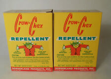 Lot of 2 Boxes Vintage CROW-CHEX Crow Repellent