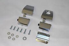 PREMIUM CHROME TOUR PAK LATCHES Compare to 53000252 FITS HARLEY KING ULTRA RAZOR
