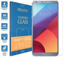 [2 Pièces] PREMYO verre trempé LG G6. Film protection LG G6. Protection écran 9H