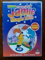 The Complet Jamie Et Magic Torche Série 1 DVD Original 1970s Culte Enfants TV