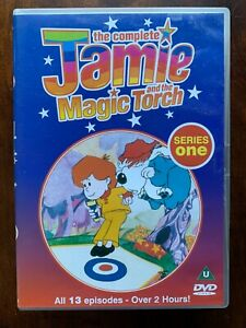 The Complete Jamie and the Magic Torch Series 1 DVD Original 1970s Cult Kids TV