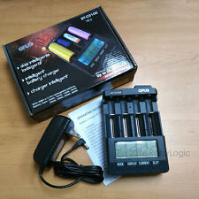 OPUS BT-C3100 V2.2 Charger for Rechargeable Li-ion Battery 18650 26650 16340 -US