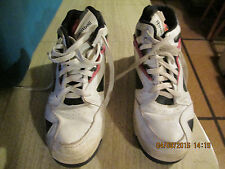 Mens Reebok The Pump Hexalite Burnt red and white Basketball Shoes size 7