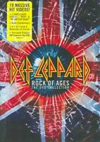 DEF LEPPARD - ROCK OF AGES: THE DVD COLLECTION NEW DVD