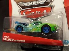 DISNEY PIXAR CARS CARLA VELOSO WITH FLAMES 2014 SAVE 6% GMC