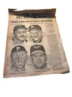 Dick Groat Autograph Signed Original The Sporting News August 31, 1960 Pirates