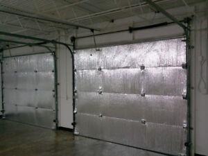 SmartGARAGE Premium Garage Door Insulation Kit TWO CAR GARAGE DOOR 18'Wx7'H