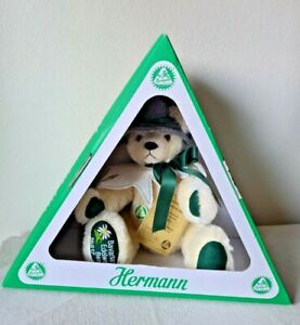 """HERMANN 15"""" """"Edelweiss Bear"""" Limited Edition Fully Jointed Mohair Germany NEW"""