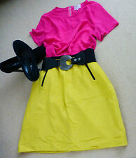 Marks and Spencer (Collection) Mustard/Yellow Skirt with wool (Size 18) BNWT