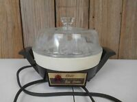 Vintage Oster Automatic Egg Cooker 579-16b with Glass Lid