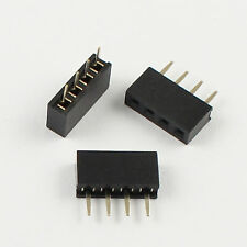 10Pcs 2mm 2.0mm Pitch 4 Pin Female Single Row Straight Pin Header Strip