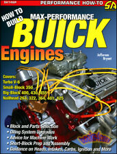 BUICK ENGINES BOOK HOW TO BUILD MAX PERFORMANCE SHOP MANUAL SERVICE REPAIR V8 V6