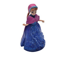 Disney Frozen Princess Anna Magic Clip Polly Pocket Dolls