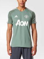 Manchester United Adidas Maglia Allenamento Training Verde Adizero 2017 18