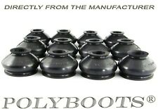 12x Polyboots Ball Joint and Tie Rod End Dust Boots 14x31x23 mm Replacement Boot