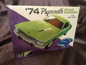 MPC 1974 Plymouth Road Runner Reissue Model Kit, New & Sealed-No Reserve Mopar!!