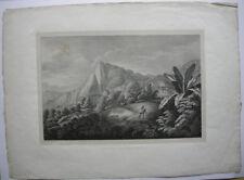 Chile Hacienda de Cassapi Orig Lithografie 1834 Sedlmayr