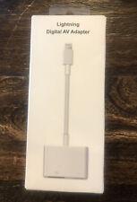 Lightning Digital AV Adapter, iPhone