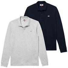 Tommy Hilfiger Polo - Jeans Classica Manica Lunga - Nuovo con Etichetta