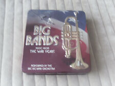 BIG BANDS THE WAR YEARS CD * 3 CDS LIKE NEW * IN STEEL CASE