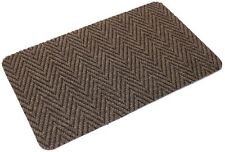 Brown Multi Directional Doormat Front Back Step Polypropylene Mat 80cm x 50cm