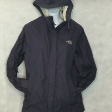 The North Face Venture 2 Rain Jacket Sz M Hooded Coat HyVent 2.5L Purple Womens