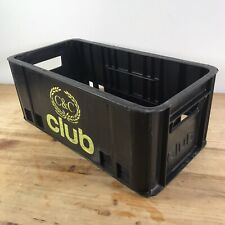CLUB C&C ORIGINAL PLASTIC CRATE - VINYL RECORD 45'S STORAGE - DJ NORTHERN SOUL