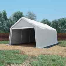 vidaXL Carpa de Almacenamiento PVC Blanca 550 G/m² 4x6 m Garaje Cenador Patio