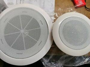 Ceiling Loud Speaker Built in 3W Home Audio White Public Address System