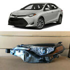 Headlight Replacement for 2017 2018 2019 Toyota Corolla LE XLE CE Left Driver