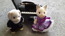 Sylvanian Families Grand Piano & Pianists *IMMACULATE*