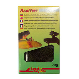 Lucky Reptile AxoNew Food 70g for axolotyls, tadpoles, aquatic frogs, newts