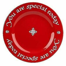 Waechtersbach Plate You Are Special Today Cherry Red 1979