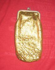 Vintage ~ Gold Metal Mesh Cigarette Case