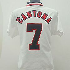 Manchester United Shirt Cantona 7 Adult (M) 1996/1997 Away Football Jersey