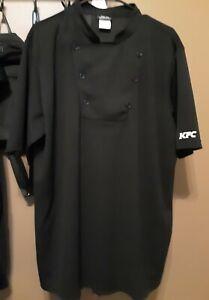 KFC Black Chef's Uniform Shirt