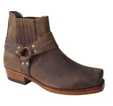 Ladies' Low Cowboy Boot Sancho 4428 Crazy Rustic Saddle Tan EU Size 36