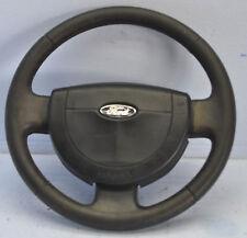 FORD Fiesta 5 JD3 (02-05) 3 Speichen Leder Airbag Lenkrad #24559-B159