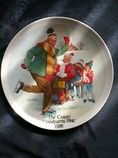 1981 First Issue Knowles Csatari Grandparent Collector Plate