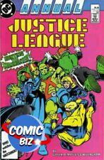 JUSTICE LEAGUE ANNUAL #1 (1987) 1ST PRINTING BAGGED & BOARDED DC COMICS
