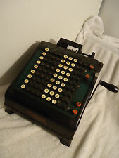 Antique Monroe Adding Machine/ Calculator/ Computer- Works, VGC, See Video