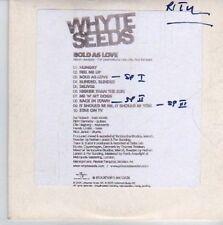 (DE468) Whyte Seeds, Bold As Love sampler - 2005 DJ CD