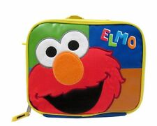 Sesame Street Elmo Kids Boys Lunch Box > Tote Bag Snack Bag Insulated / Backpack