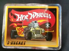 Vintage Hot Wheels Mattels Toy Makers Lunch Box Featuring T-Bucket. W/ Thermos
